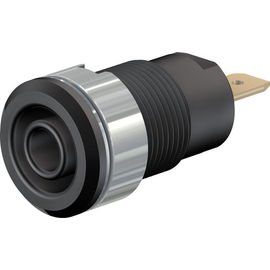 23.3000-21 MULTI-CONTACT SLB4-F 4 mm Sicherheitsbuchse schwarz Produktbild