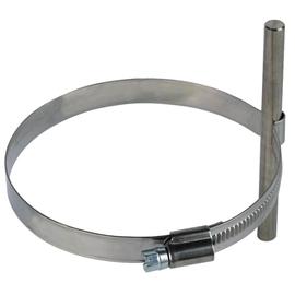 200079 Dehn Leitungshalter f. Regenrohr 8mm Niro 80-100mm Produktbild