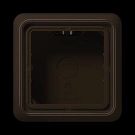 CD581ABR Jung AP-Gehäuse 1-fach CD 500 braun Produktbild