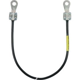 410905 DEHN Erdungsleitung 10mm²/L 0,5m m.2 Kabelschuhe (D) geschl. M10 Produktbild