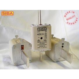 2000413315 SIBA NH-Sicherung GR2 315A gG 500V Kombimelder DIN43620 Produktbild