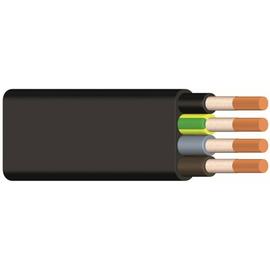 NGFLGÖU-J 5X6 schwarz Messlänge Gummiflachleitung Produktbild