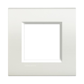 LNA4802BI Bticino Light Rahmen 2 Mod. WEISS Produktbild