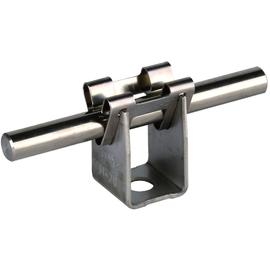 207009 Dehn Leitungshalter DEHNgrip Bauhöhe 20mm für Rd.8mm Produktbild