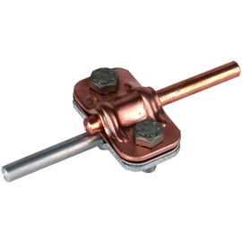460517 Dehn Uni-Trennklemme Zweimetall Cu-St/tZn 8-10/8-10 Produktbild