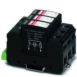 2801161 PHOENIX VAL-MS T1/T2 1000DC-PV 2+V-FM Überspannungsableiter Produktbild