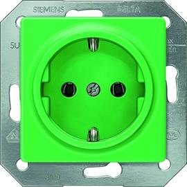 5UB1512 SIEMENS Schuko-Steckdose grün (SV) 10/16A I-System schraubenl. Klemme Produktbild
