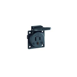 UL12500 ABL Internationale Einbausteck- dose schwarz Produktbild