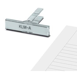 1004348 Phoenix KLM-A Klemmenleiste- marker (vpe=100stk) Produktbild
