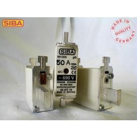 2047713.25 Siba NH-Sicherung Gr.000 25A 660/690V gG/gL m. Kombimelder DIN43620 Produktbild
