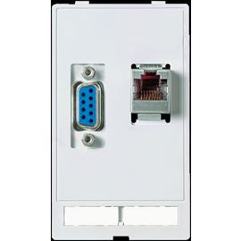 4000-68000-1410000 MURR Einsatz 1xRJ45 1xSUB-D9 Bu Produktbild