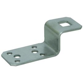 377009 DEHN Anschlusslasche Z-Form Niro Bohrung D11mm Produktbild
