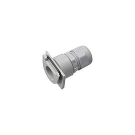 000630 GIRA Stutzen-Schieber M20 WG Aufp utz Grau Produktbild
