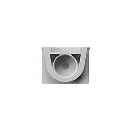 000930 GIRA Kabeleinführung WG Aufputz G rau Produktbild