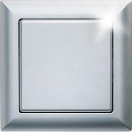 30000591 ELTAKO FT55-al Funktaster 55x55 alu lackiert Produktbild