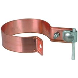 420207 DEHN Regenrohrschelle Zweimetall 100MM Cu/ST/tZn Produktbild