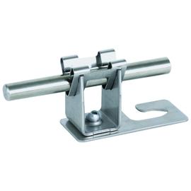 206339 DEHN Dachleitungshalter f. Well- platten Profil 5/8 DEHNgrip Rd 8mm NIRO Produktbild