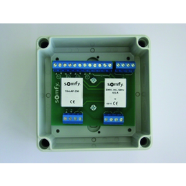 1822292 Somfy TR4-DRM-230 Trennrelais Hutschiene für 4 Antriebe Produktbild