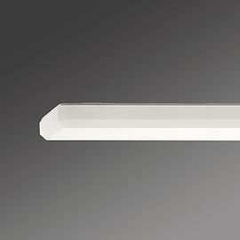 KLKF 2/36E Regiolux Wannenleuchte 2X36W EVG Opal IP50 Produktbild