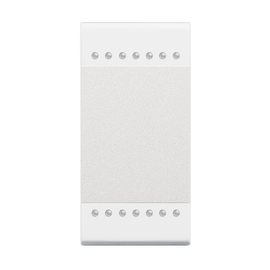 N4911N BTICINO Wippe 1 Modul Neutral Produktbild