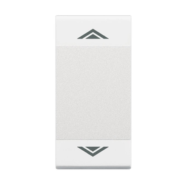 N4911AHN BTICINO Wippe 1 Modul AUF / AB Produktbild