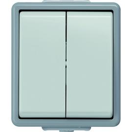 5TA4705 SIEMENS AP-FR Serienschalter 10A DELTA Fläche grau IP44 Produktbild