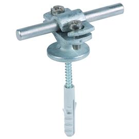 275160 Dehn Leitungshalter m.Überleger 7-10mm M8 St/tZN Produktbild
