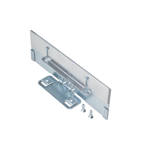 BKB250856 HAGER Endplatte für BKB85250 Stahlblech verzinkt Produktbild Front View L
