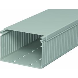 6178061 OBO Verdrahtungskanal LK4 80x120 HxB steingrau RAL 7030 Produktbild