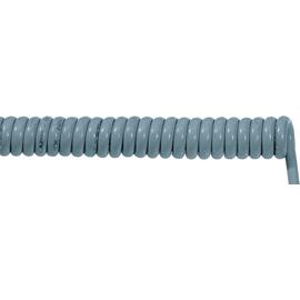 70002642 ÖLFLEX SPIRAL 400 P 5G0,75/1500 PUR-Spiralkabel grau, dehnbar 4500mm Produktbild