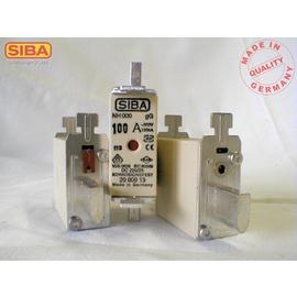 2000013.100 Siba NH-Sich.  gG  Gr.000 Typ NH00 100A 500V Kombimelder Produktbild