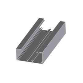 11703 ELITEC Brüstungskanal Unterteil Alu Reinweiss BRA3 60x130/80/BE Produktbild