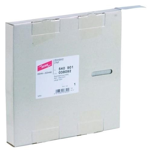 540901 Dehn Spannband Niro 25X0,3MM L 100M Produktbild Front View L