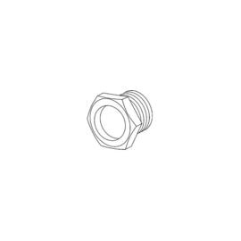 K508/15 Kleinhuis Trompetennippel mit Sechskant Bund M10x1 15mm Produktbild