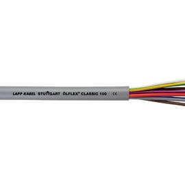 0010068 ÖLFLEX CLASSIC 100 7G1,5 grau PVC-Steuerleitung fbg. Adern Produktbild