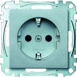 MEG2300-0460 Merten Schuko System M aluminium Produktbild