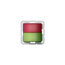 294100 GIRA Zimmersignalleuchte Rot, Grü n Rufsystem 834 Produktbild