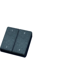 30000232 Eltako FMH4-rw Funk Mini- Handsender Reinweiß mit Doppelwippe Produktbild