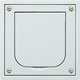 5UB4650 Siemens Schuko-Steckdose m.Deckel grau Produktbild