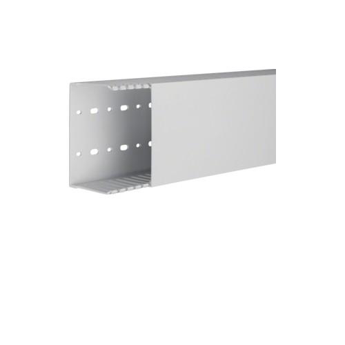 HNG7512507035B TEHALIT Verdrahtungskanal 125x75 halogenfrei lichtgrau Produktbild Front View L