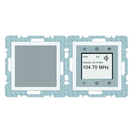 28809909 BERKER S.1/B.x Radio Touch polarweiß Produktbild