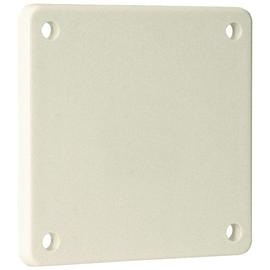 10015 WALTHER Blindflansch 75x75mm grau Produktbild