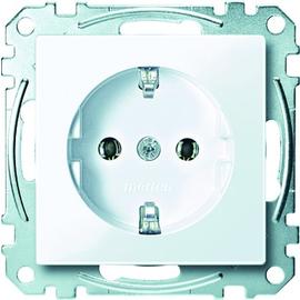 MEG2301-0325 MERTEN Schuko-Steckdose System M aktivweiß glänzend 16A 250V Produktbild