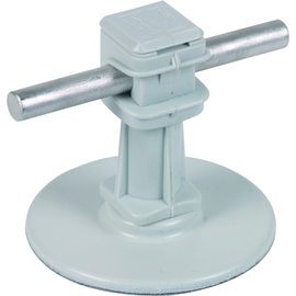 297110 DEHN Leitungshalter DEHNsnap H 36 mm grau m. Klebepad D 67mm f. Rd 8mm Produktbild