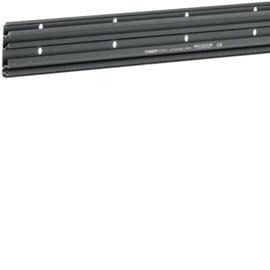 SL200801 Tehalit Unterteil für Sockelleistenkanal 80x20 schwarz Produktbild