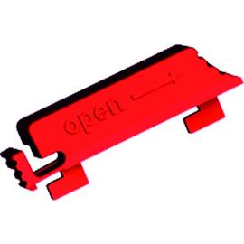 940.103 BACHMANN Verriegelungslaschen rot f. IEC C13 Kaltgerätedosen Produktbild