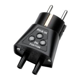P01101997Z CHAUVIN ARNOUX CA751 Steck- Dosenprüfer Schuko- Adapter Produktbild