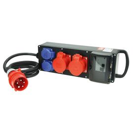 9441075 PCE Verteiler Steyregg BV 2x32/5 2xSSD 2m5G4St32 H07 M Produktbild