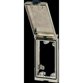 4000-68113-0000000 MURRELEKTRONIK Einbaurahmen 1fach silber Produktbild