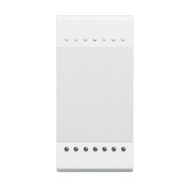 N4915N Bticino Wippe Neutr 1Mod. Bel. Unten WEISS Produktbild